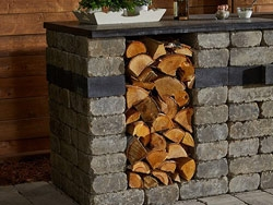 Kitchen Kits: Quarry Stone Storage Unit