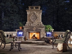 Fire Features: Fireplaces & Pizza Ovens