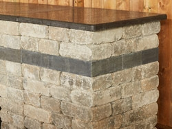 Kitchen Kits: Quarry Stone End Unit