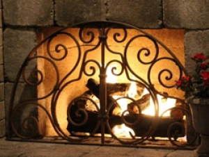 Outdoor Accessories: Wrought Iron