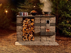 Kitchen Kits: Quarry Stone Rocket Stove