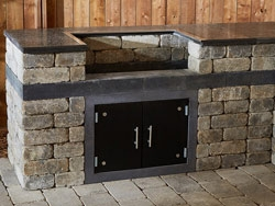 Kitchen Kits: Quarry Stone Grill Base